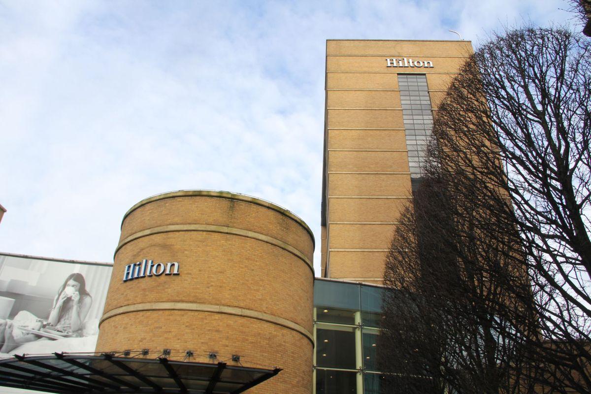 Hilton Belfast Exeterior