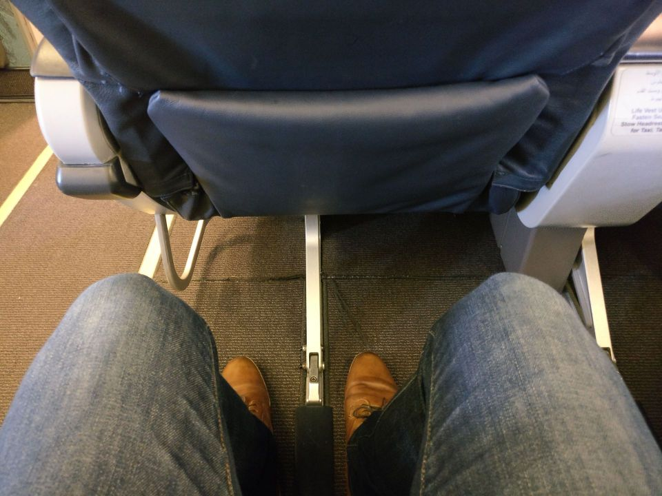 Oman Air Business Class Boeing 737 Seat Pitch
