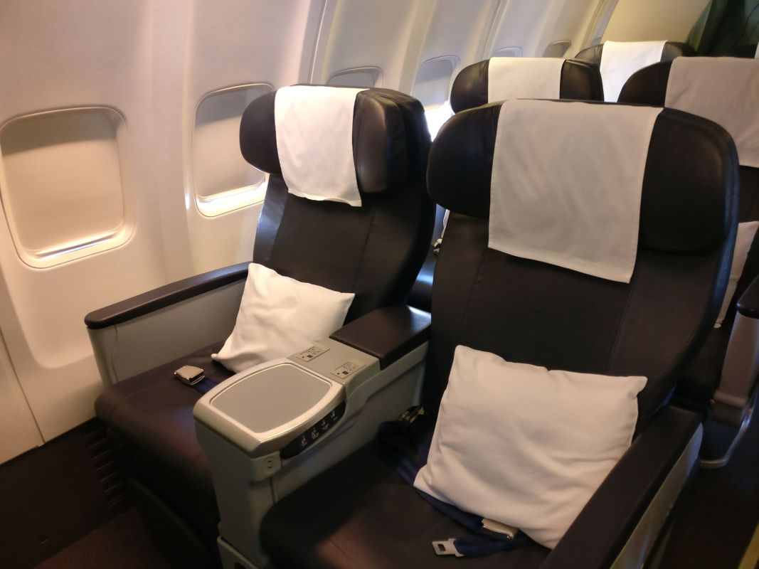 Oman Air Business Class Boeing 737 Seating