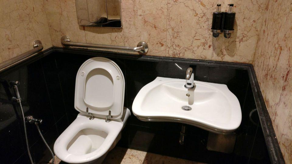 Saudia Lounge Dschidda Toiletten