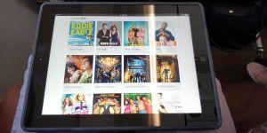 Silk Air Business Class Tablet