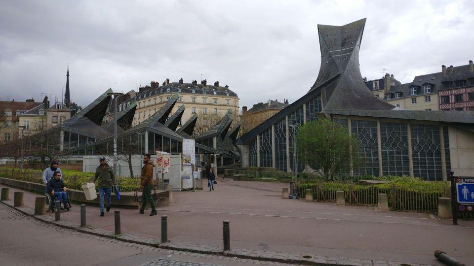 Church of Jean Arc Rouen