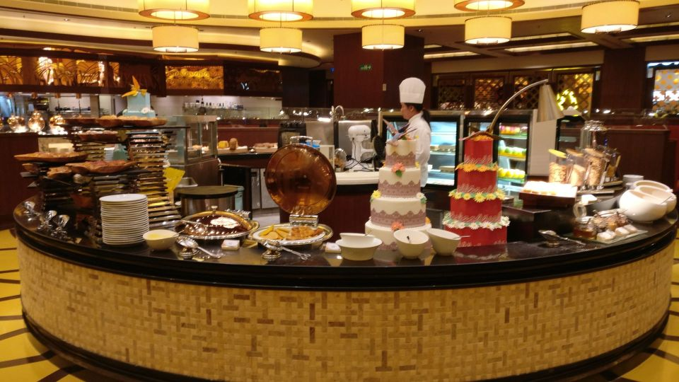 Conrad Macao Breakfast
