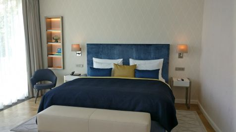 The Fontenay Hamburg Deluxe Room