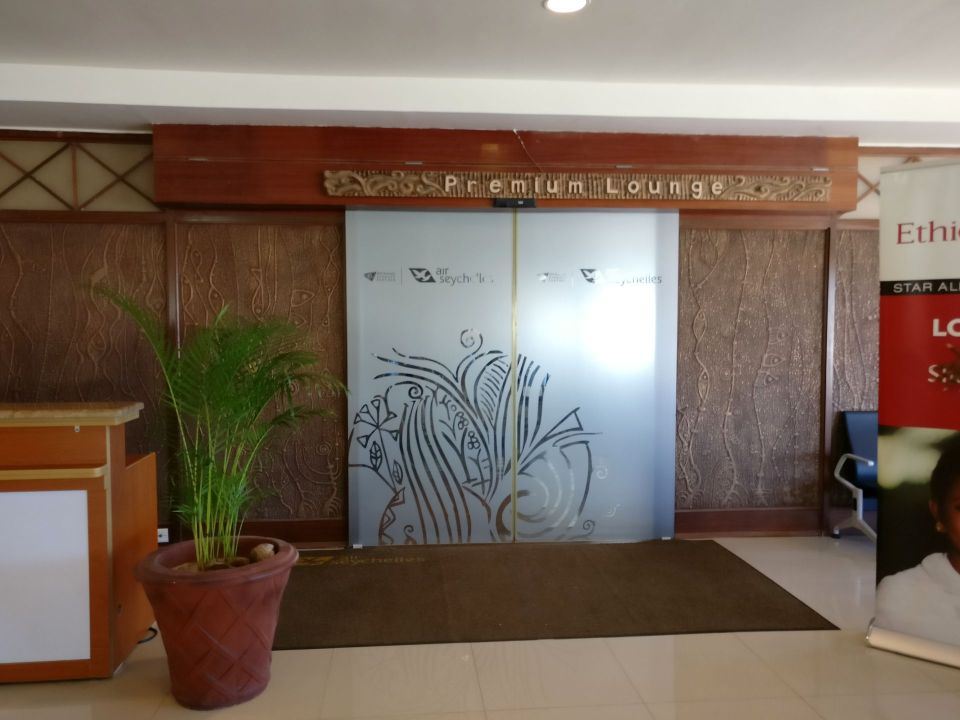 Air Seychelles Lounge Mahe Entrance