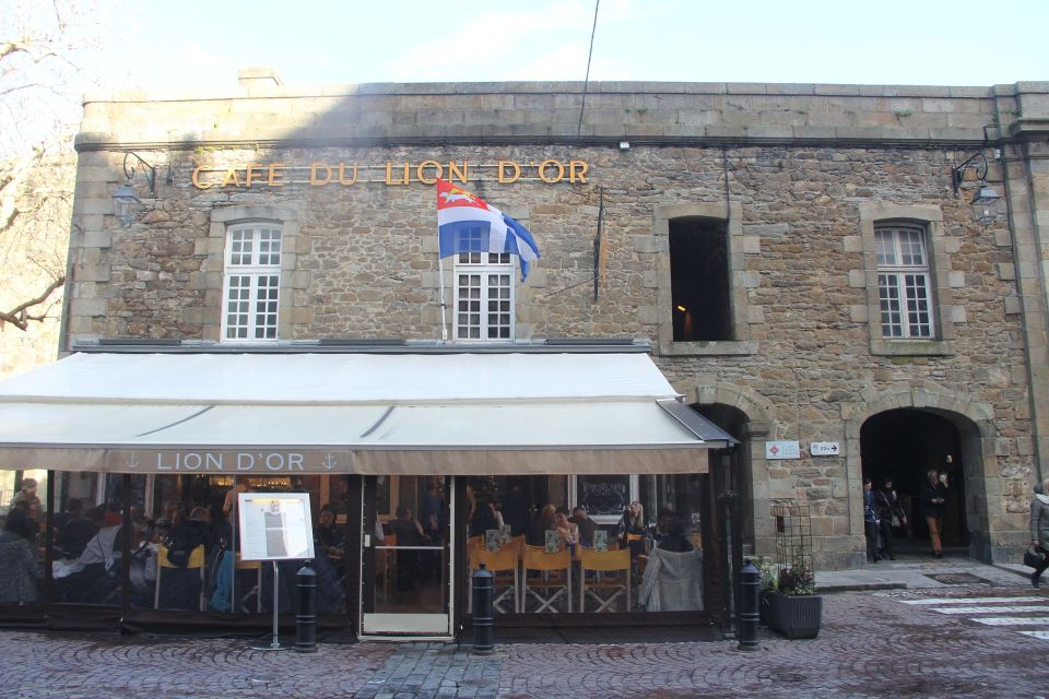 Cafe du Lion d'Or Saint Malo