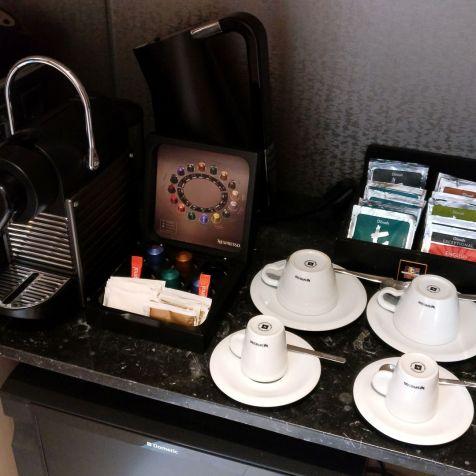 Conrad Algarve Grand Deluxe Room Coffee Machine