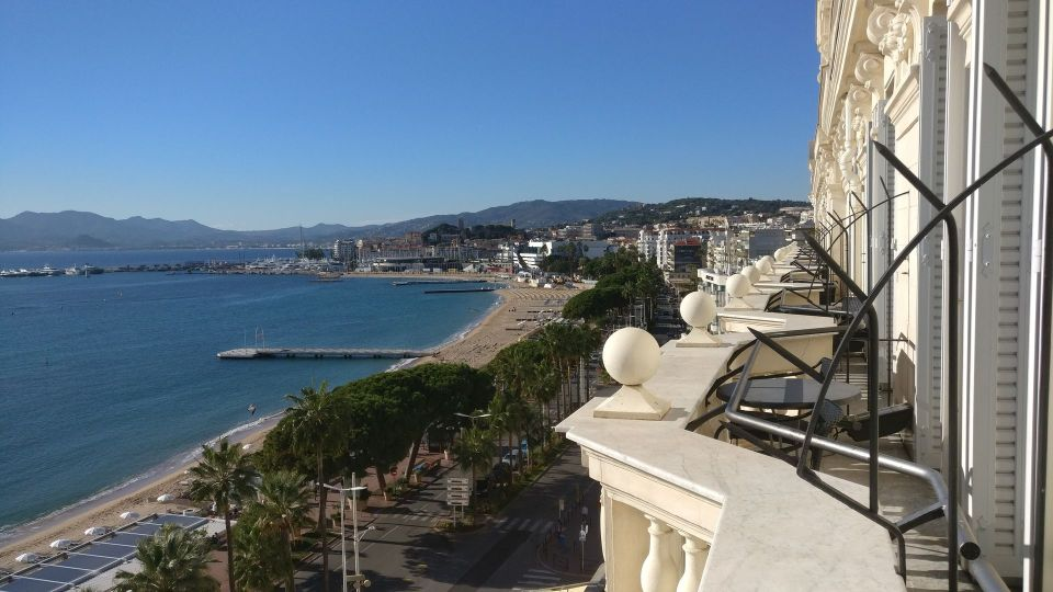 InterContinental Carlton Cannes Deluxe Room Balcony