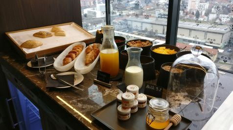 InterContinental Ljubljana Breakfast