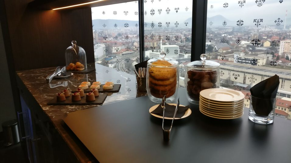 InterContinental Ljubljana Executive Lounge Afternoon Tea
