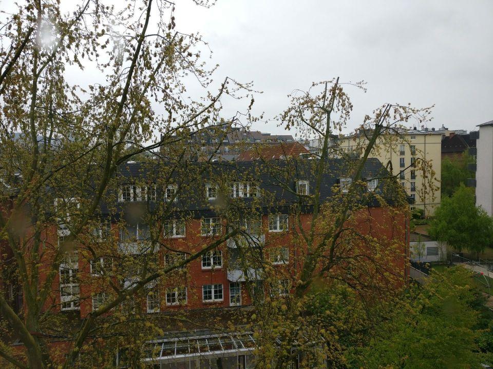 Le Meridien Hamburg Corner Room View