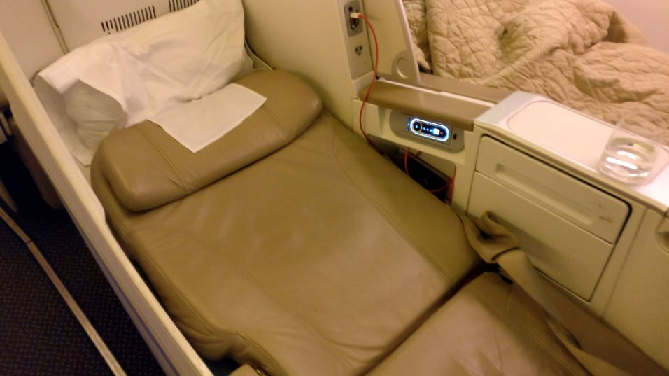 Saudia Business Class Boeing 777 Bed