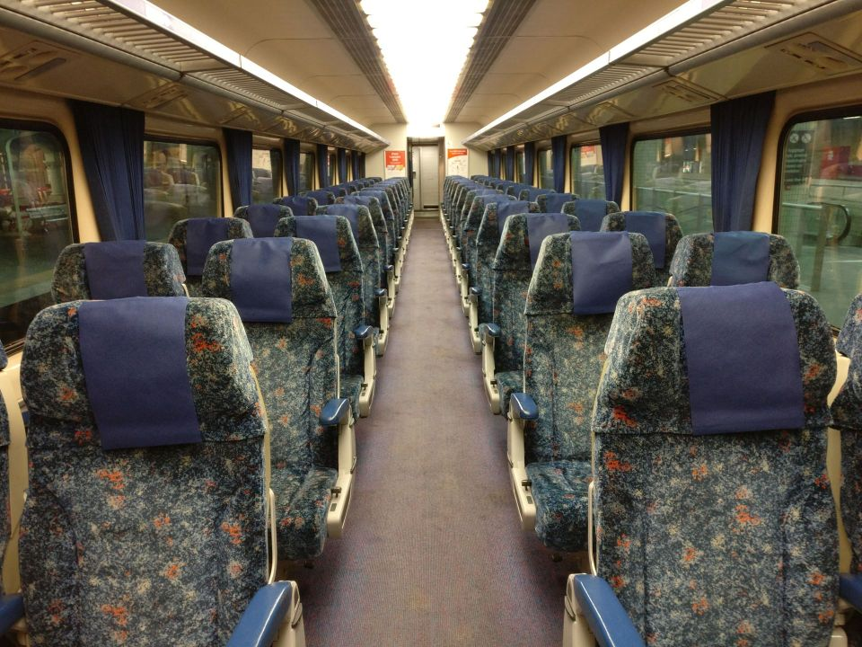 XPT Train First Class