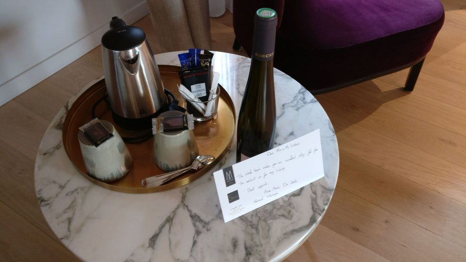 5 Terres Hotel Barr Welcome Gift