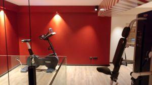 Grand Hotel La Cloche Dijon Superior Room Gym