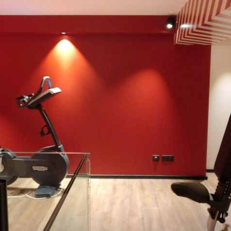 Grand Hotel La Cloche Dijon Superior Room Gym
