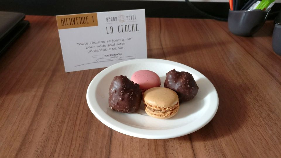 Grand Hotel La Cloche Dijon Welcome Gift