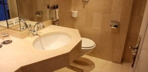 Hotel Le Royal Lyon Junior Suite Guest Bathroom