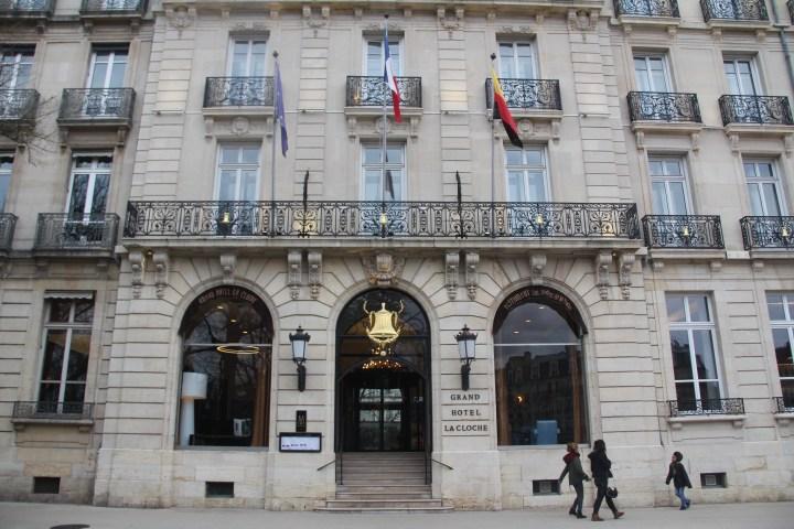Grand La Cloche Dijon Entrance