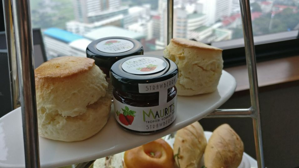 InterContinental Bangkok Executive Lounge Afternoon Tea