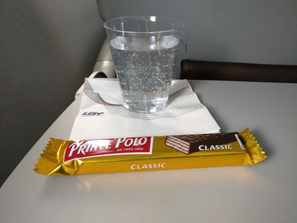 LOT Economy Class Catering