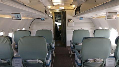 Saudia Business Class Airbus A320 Seat