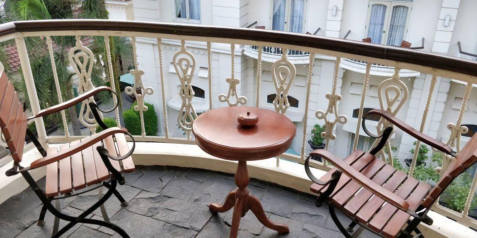 phoenix hotel yogyakarta legacy room balcony