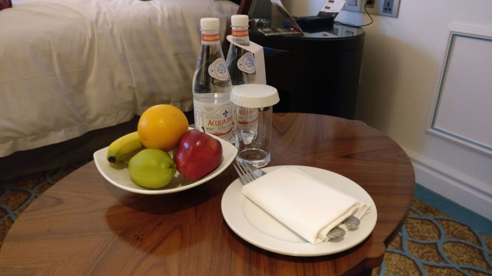 InterContinental Singapore Welcome Treatment