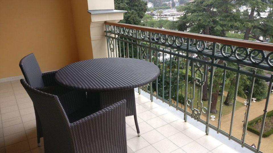 Kempinski Palace Portoroz Deluxe Room Balcony