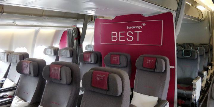 Eurowings Premium Economy Class Cabin