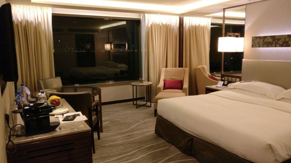 InterContinental Grand Stanford Hongkong Grand Premier Full Harbor View Room