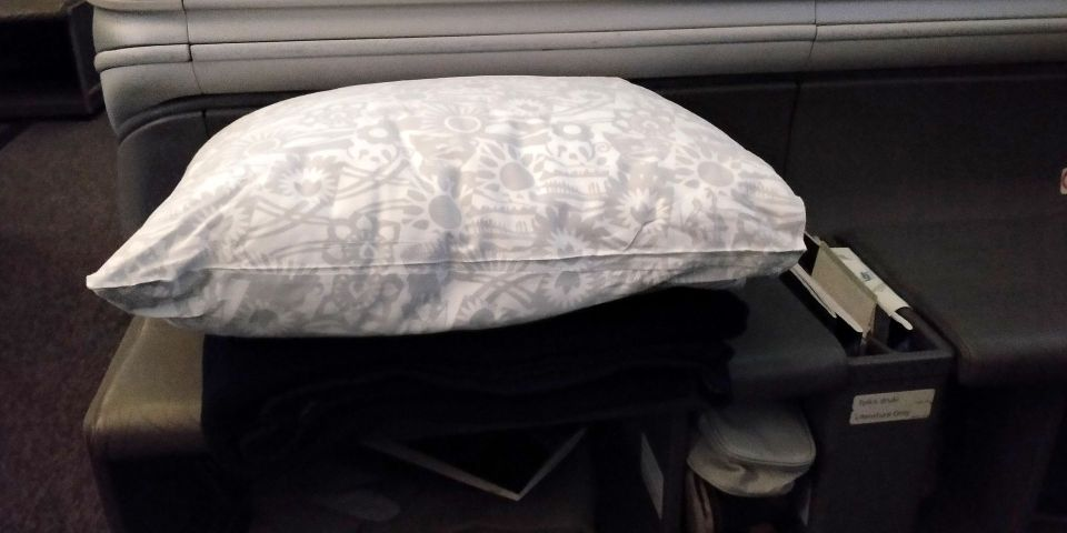 LOT long haul Business Class Pillow