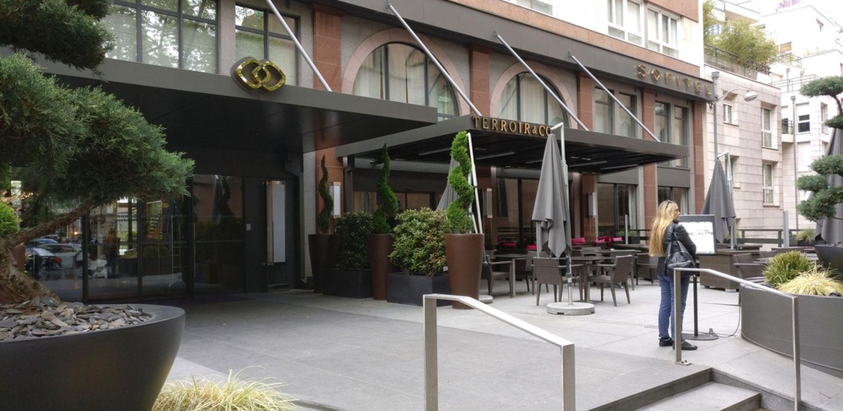 Sofitel Strasbourg Entrance
