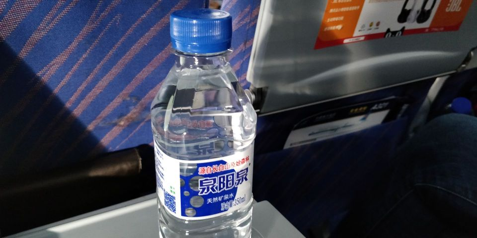 China Southern Airbus A320 Drink