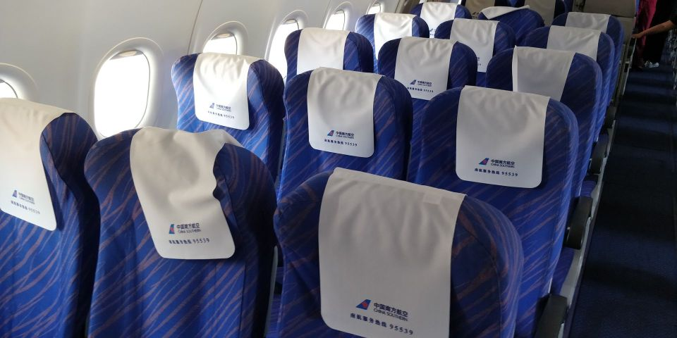 China Southern Airbus A320 Seat