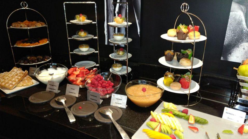 Hotel Barriere Le Fouquet Paris Junior Suite Breakfast