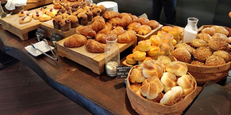 Hilton Belgrade Breakfast