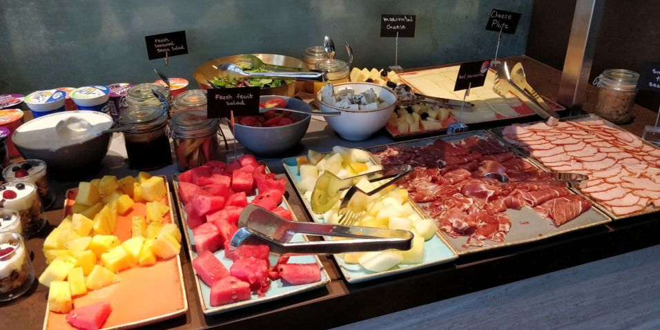 Hilton Belgrade Executive Lounge Breakfast