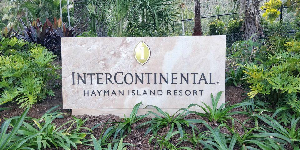 InterContinental Hayman Island Resort Sign