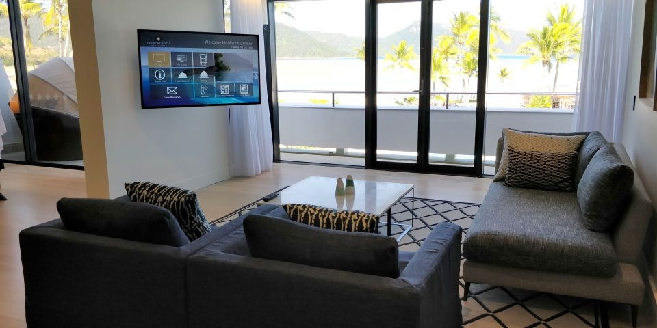 InterContinental Hayman Island Resort Suite Living Room