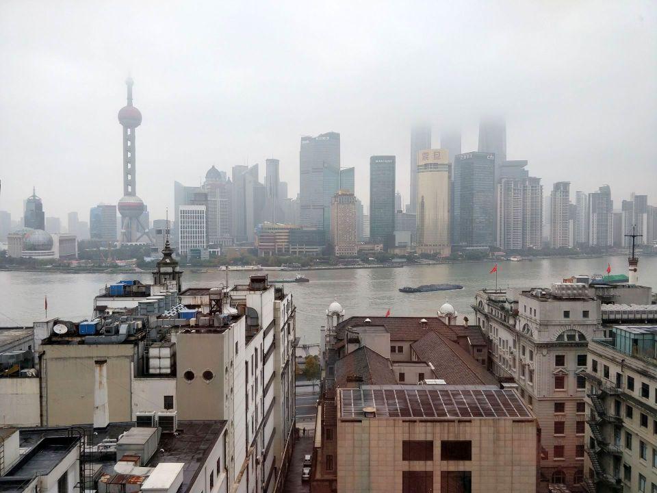 Waldorf Astoria Shanghai View