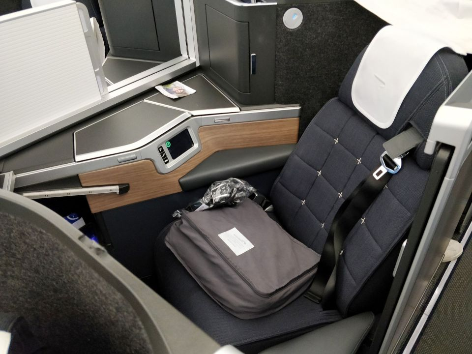 British Airways Business Class Airbus A350 Seat