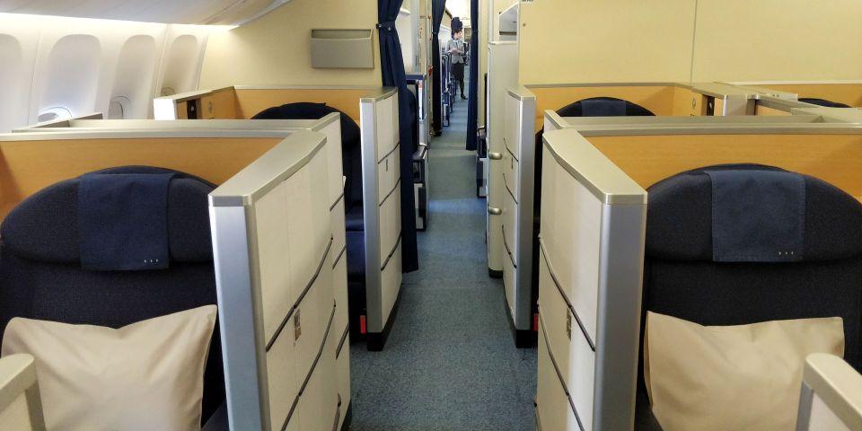 ANA First Class Cabin