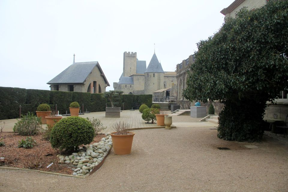 Hotel de la Cite Carcassonne Garden