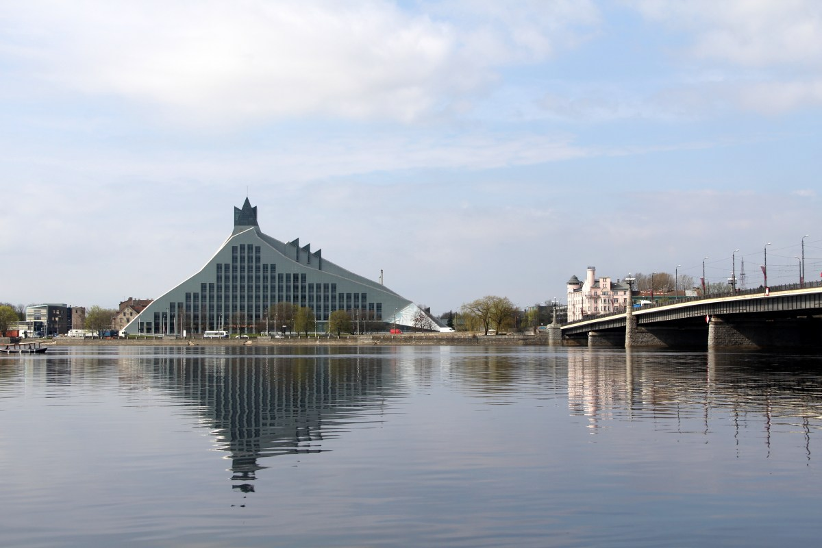 National Library in Riga