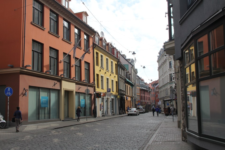 Old Town Riga Small Streets