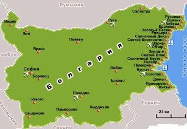 Солнечная Болгария - отдых без забот
