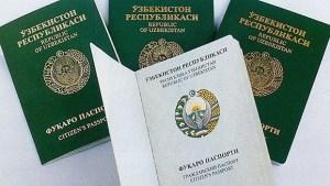 Биометрический загранпаспорт в Узбекистане 2019
