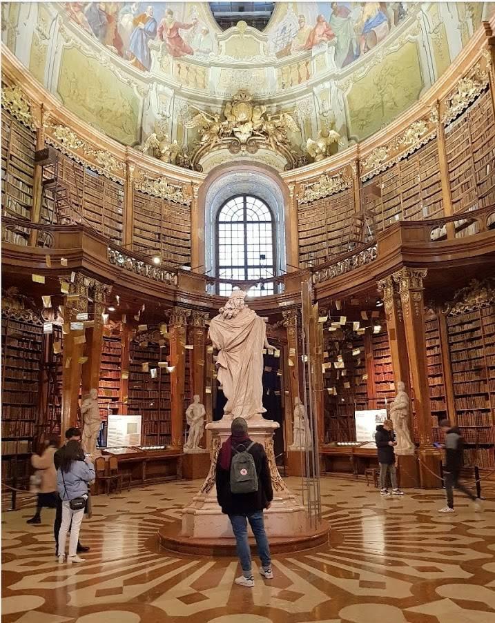 Βιέννη travelvibe.eu Εθνικη Βιβλιοθήκη