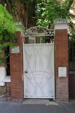 Cité Floral, dettagli art nouveau